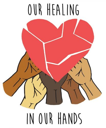 Our Healing in Our Hands Logo